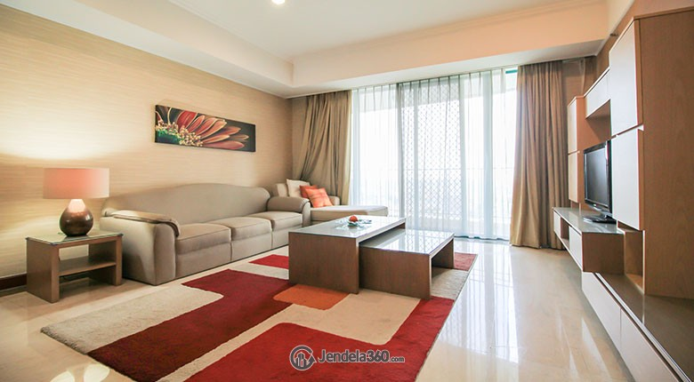 Living Room Apartemen Casablanca Apartment