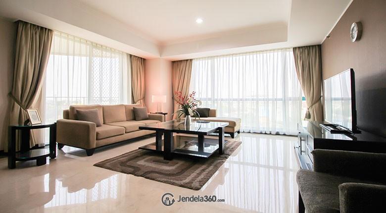 Living Room Apartemen Casablanca Apartment