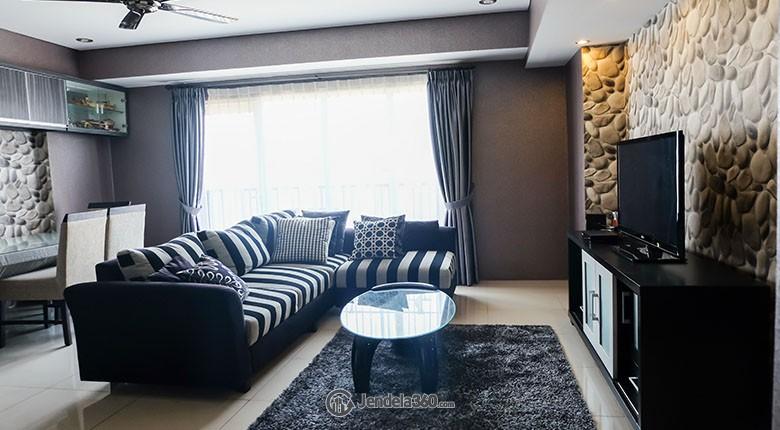 Living Room Aspen Residence Apartment