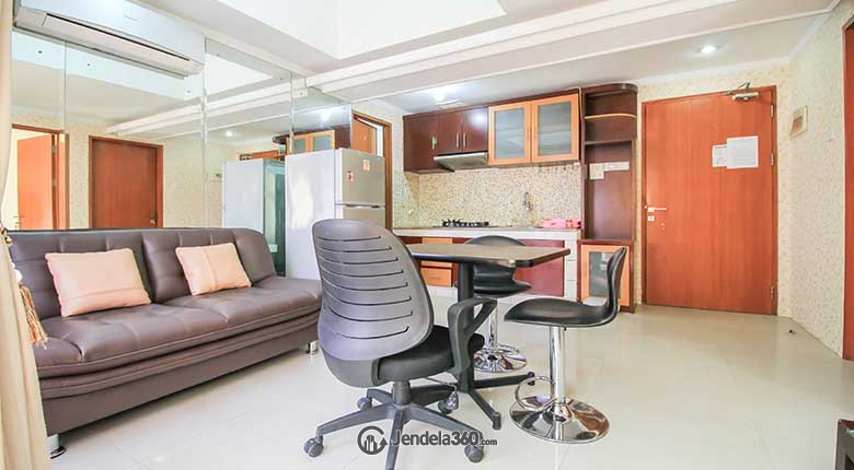 Living Room Grand Kartini Apartment Apartment