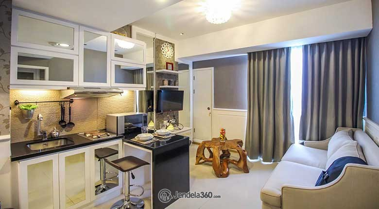 Living Room Gandaria Heights Apartment Apartment
