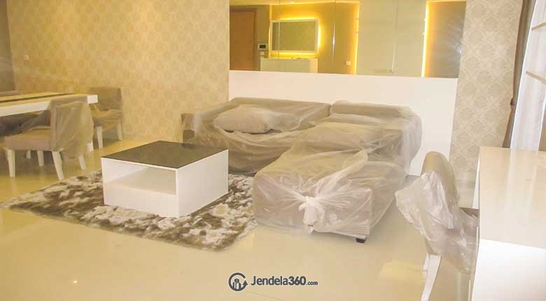 Living Room Apartemen The Mansion Jasmine Kemayoran