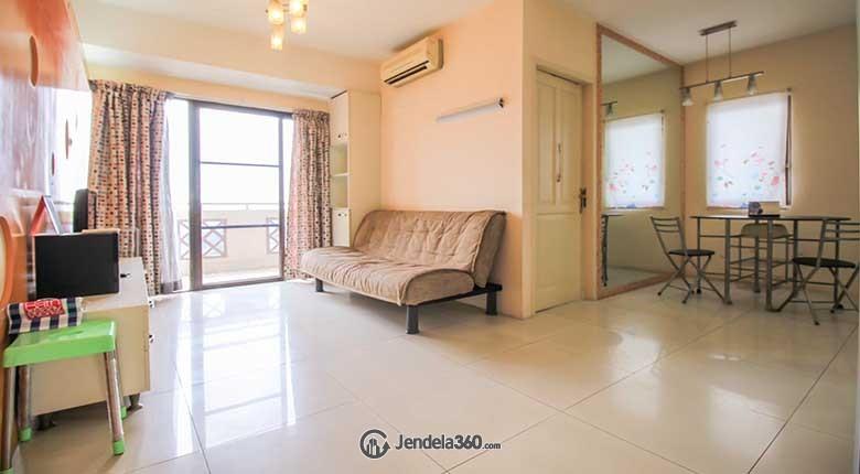 Living Room Apartemen Puri Garden Apartment