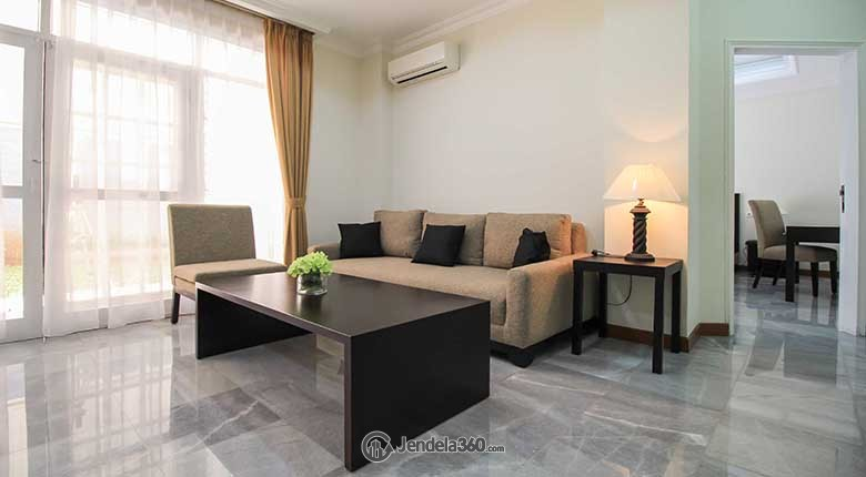 Living Room Purnawarman Executive Mansion Apartment