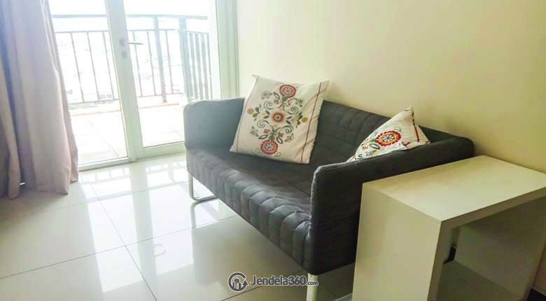 Living Room Marbella Kemang Residence Apartment