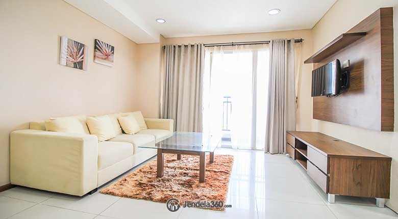 Living Room Apartemen Thamrin Executive Residence