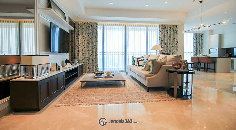 Living Room Apartemen Wang Residences
