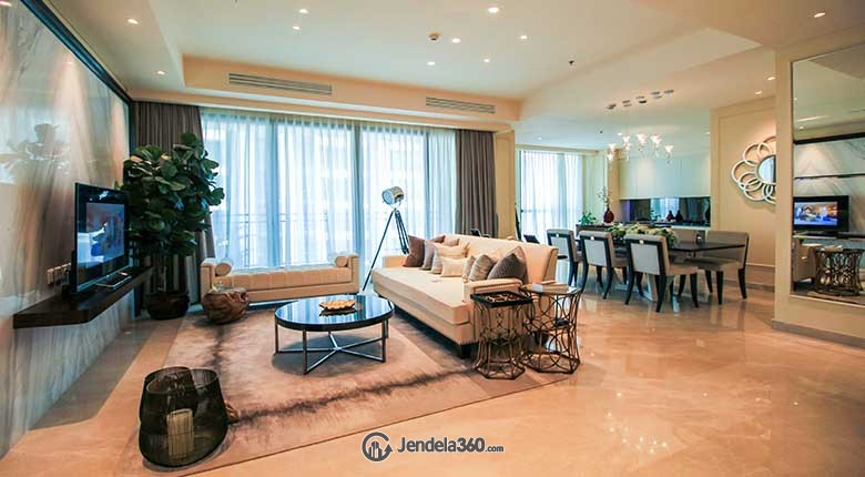 Living Room Wang Residences Apartment