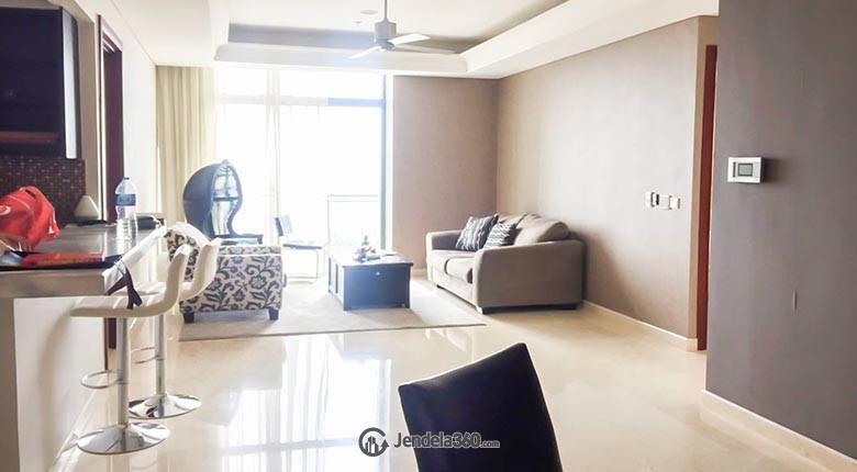 Living Room Essence Darmawangsa Apartment