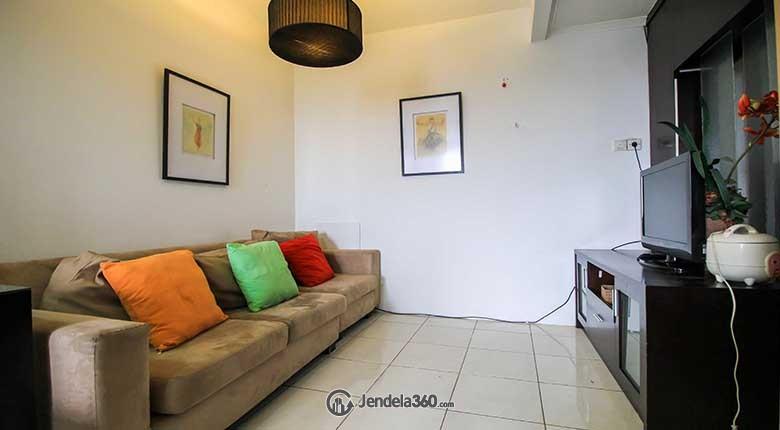 Living Room Apartemen Sudirman Park Apartment