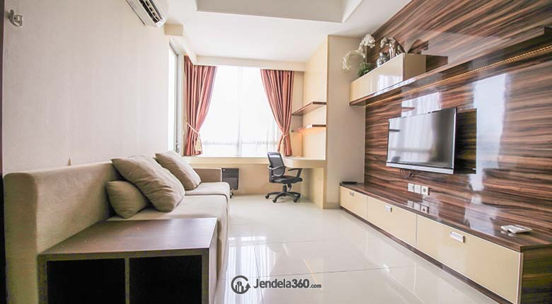 Living Room Kuningan City (Denpasar Residence) Apartment