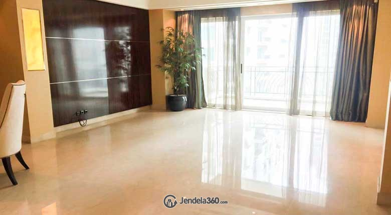 Living Room Pakubuwono Residence Apartment