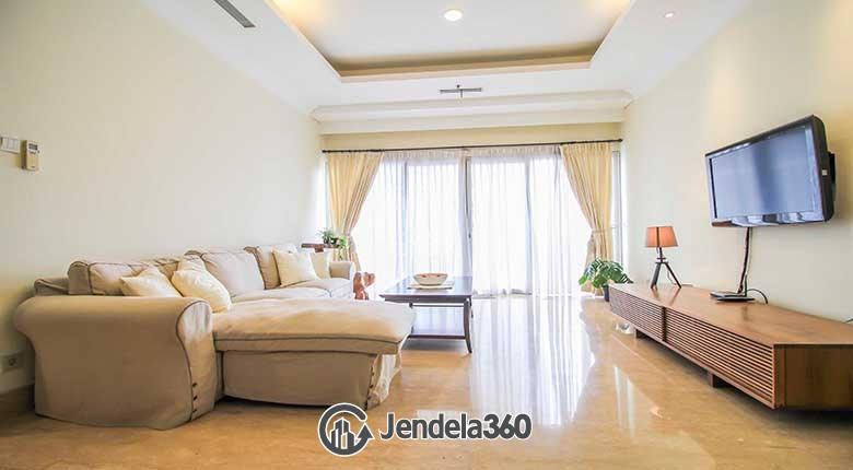 Living Room Apartemen The Capital Residences