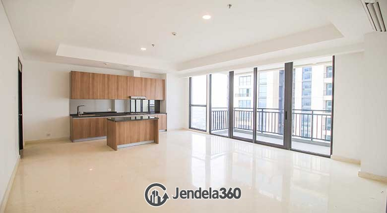 Living Room Apartemen Wang Residences
