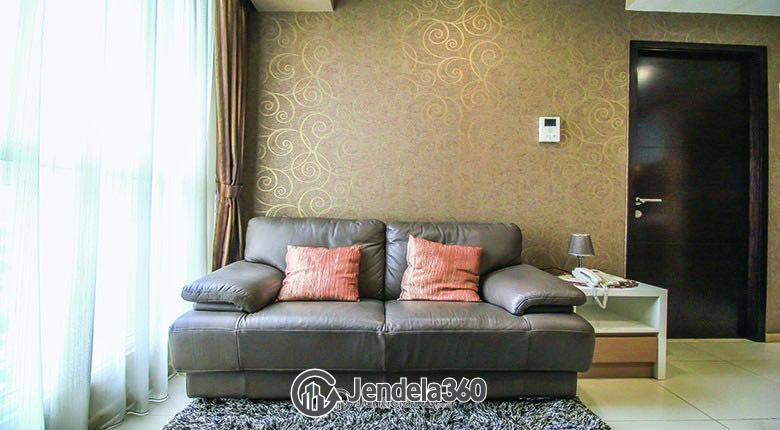 Living Room Gandaria Heights Apartment