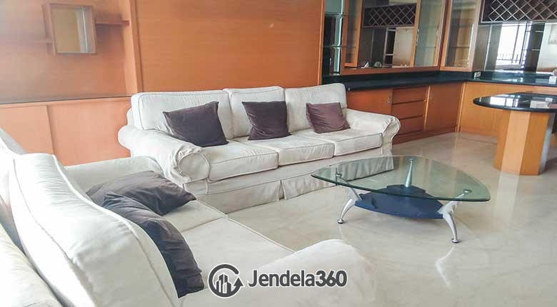Living Room Permata Hijau Residences