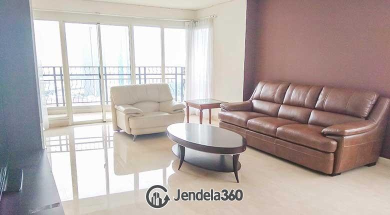 Living Room Permata Hijau Residences Apartment
