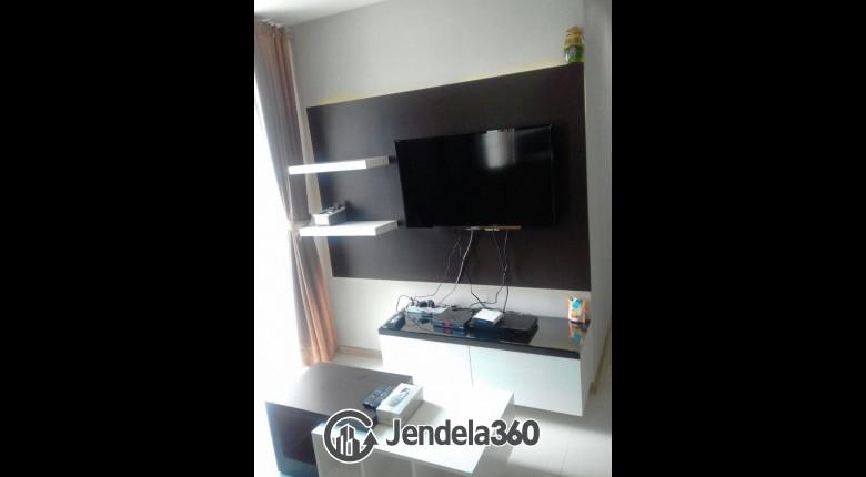 Living Room Apartemen Casa Grande Apartment 1BR Fully Furnished