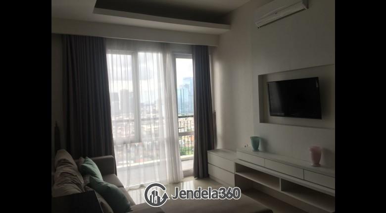 Living Room Ambassade Residences Apartment
