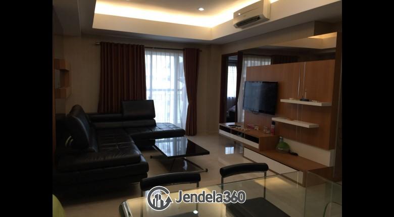 Living Room Royal Mediterania Garden Residence Apartment