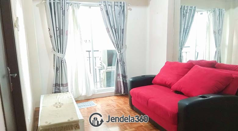 Living Room Puri Park View Apartment