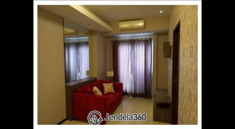 Living Room Apartemen Sunter Park View Apartment 2br City