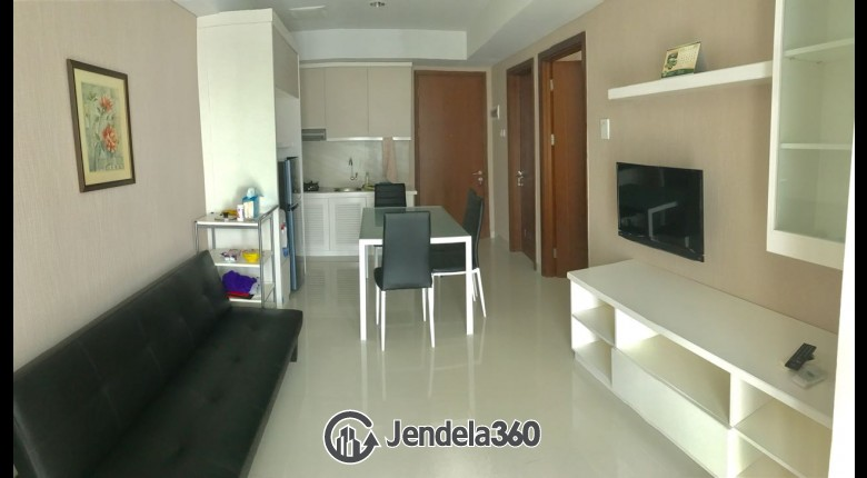 Living Room Springhill Terrace Residence 2BR Fully Furnished Apartment