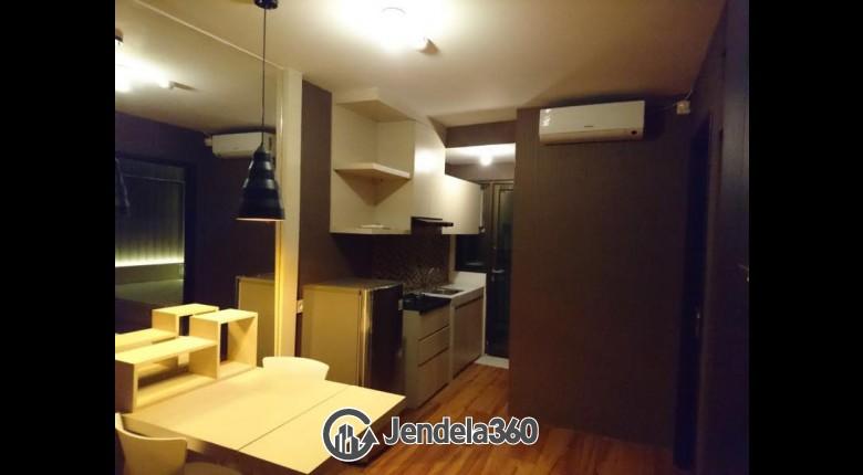 Living Room Apartemen Kebagusan City Apartment 2BR Fully Furnished