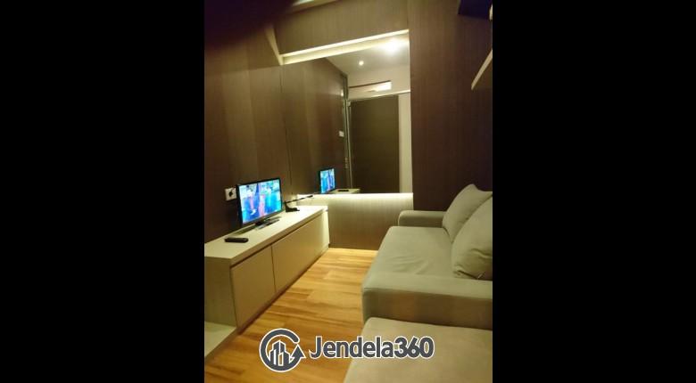 Living Room Apartemen Kebagusan City Apartment