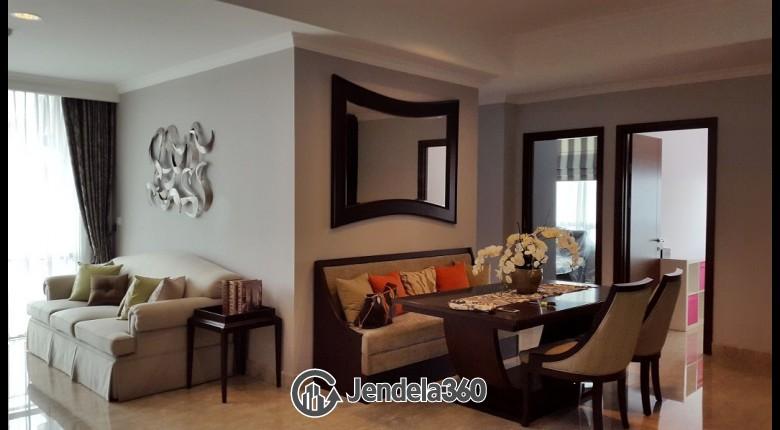 Living Room Kuningan City (Denpasar Residence) 3BR Tower Kintamani Apartment