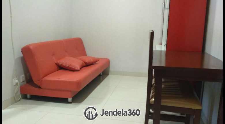 Living Room The Mansion Kemayoran Bougenville 2BR Fully Furnished