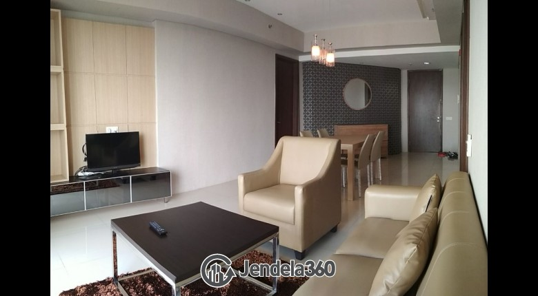 Living Room ST Moritz Apartment 2BR Tower royal