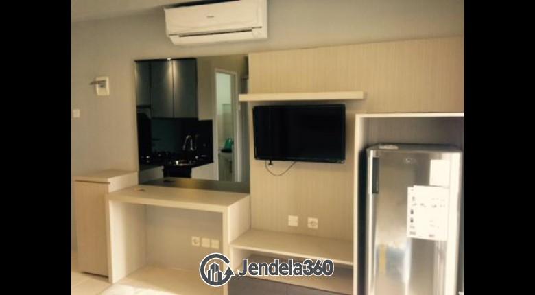 Living Room Pakubuwono Terrace Studio Fully Furnished