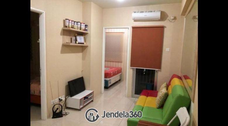 Living Room Pakubuwono Terrace 2BR View City Apartment