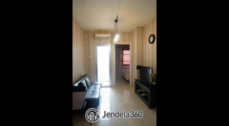 Living Room Apartemen Pakubuwono Terrace 2BR Semi Furnished