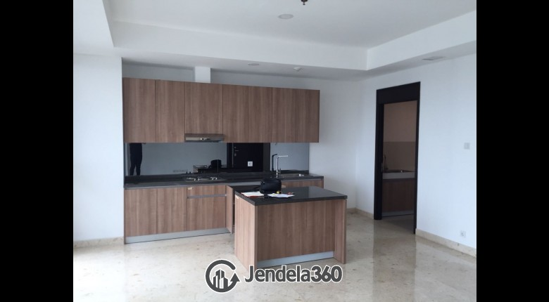 Living Room Apartemen Wang Residences 3BR Semi Furnished
