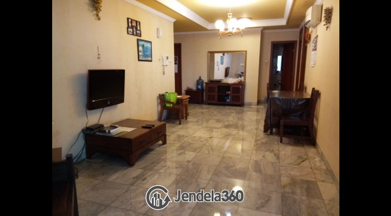 Living Room Mitra Oasis Residence 2BR Tower A Apartment