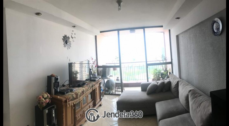 Living Room Taman Rasuna Apartment