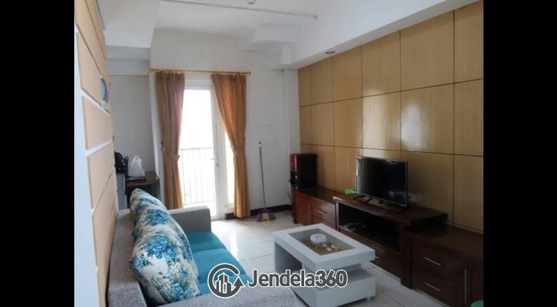Living Room Apartemen The Boutique At Kemayoran 2BR View City