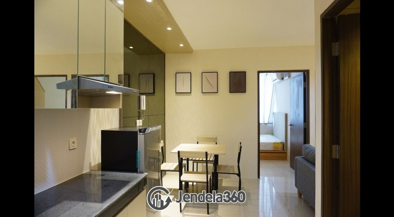 Living Room Pasar Baru Mansion Apartment 2BR Fully Furnished Apartment