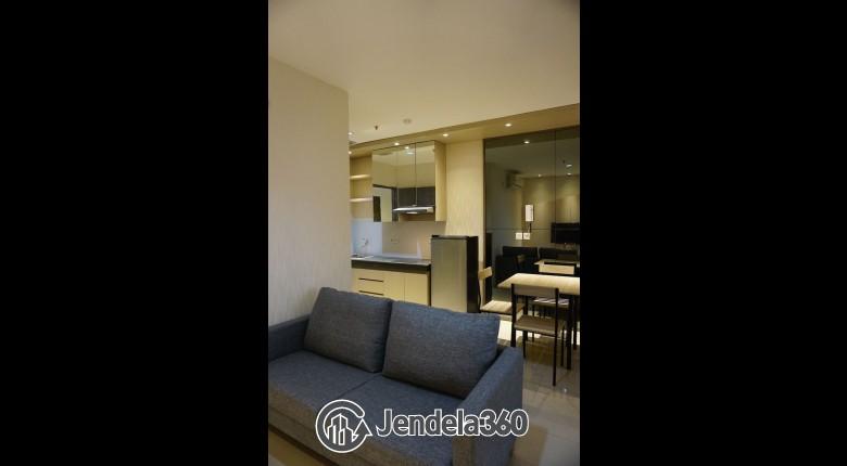 Living Room Apartemen Pasar Baru Mansion Apartment