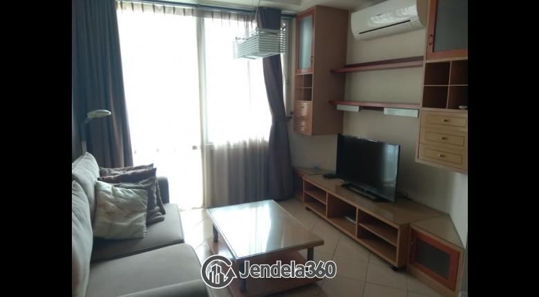 Living Room Batavia Apartment 1BR Fully Furnished