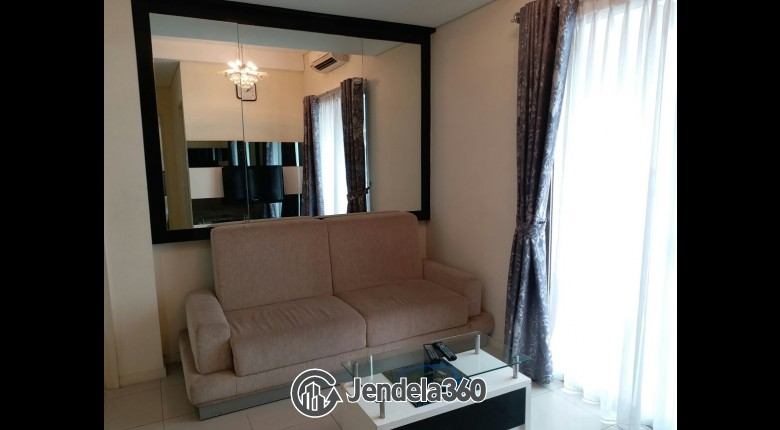 Living Room Apartemen Cosmo Terrace - Thamrin City