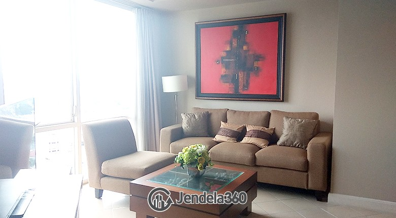 Living Room Apartemen Batavia Apartment
