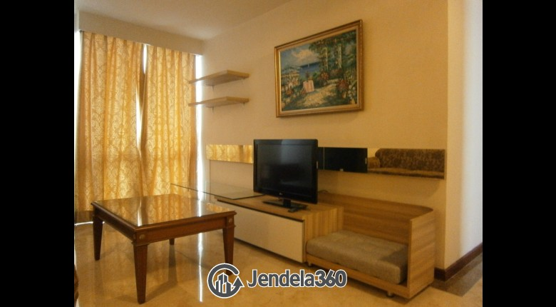 Living Room Apartemen Puri Casablanca Apartment