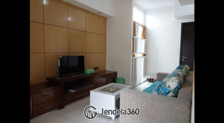Living Room Apartemen The Boutique At Kemayoran 2BR Fully Furnished