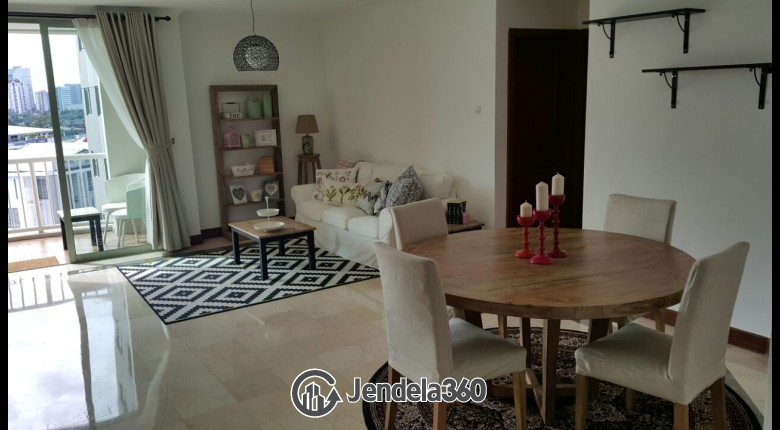 Living Room Bumi Mas Apartment
