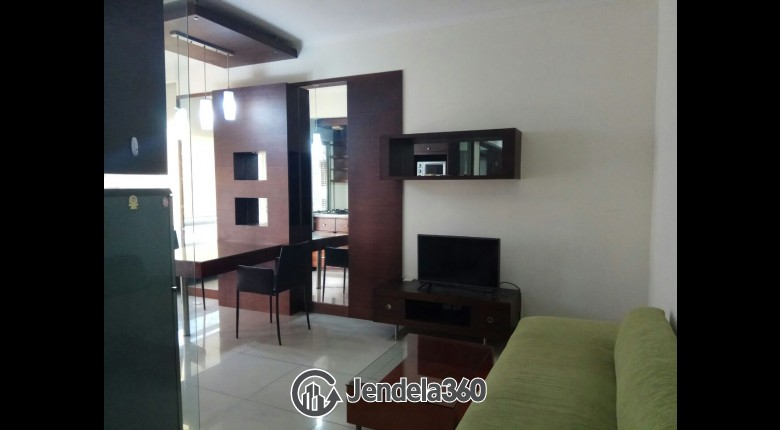 Living Room Sudirman Park Apartment 2BR Fully Furnished