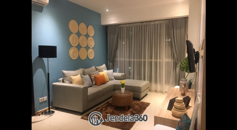 Living Room Apartemen Gandaria Heights Apartment 2BR Tower A