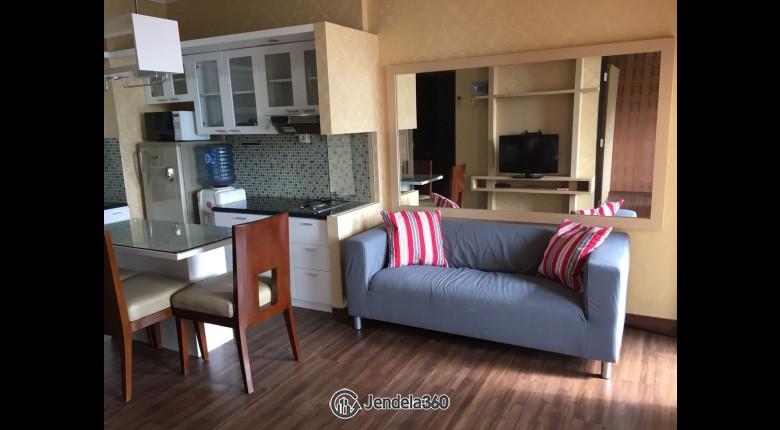 Living Room Apartemen Casablanca Mansion